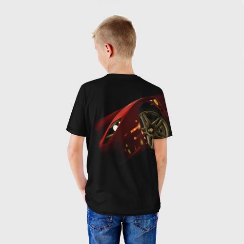 Детская футболка 3D  Фото 02, Ferrari