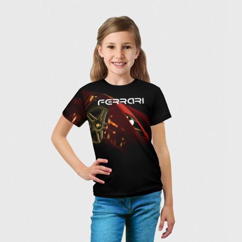 Детская футболка 3D  Фото 03, Ferrari