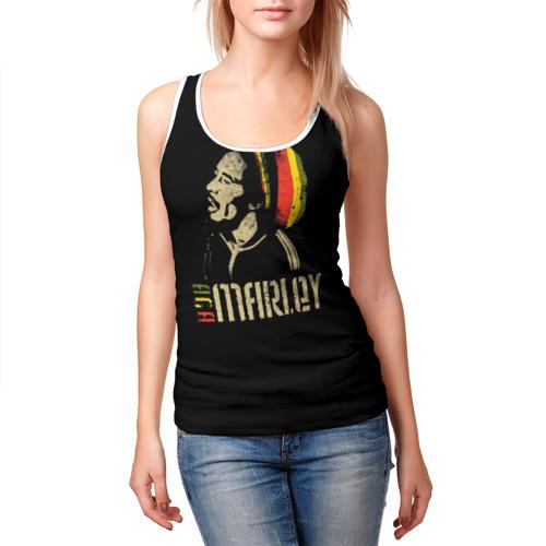 Женская майка 3D  Фото 03, Bob Marley