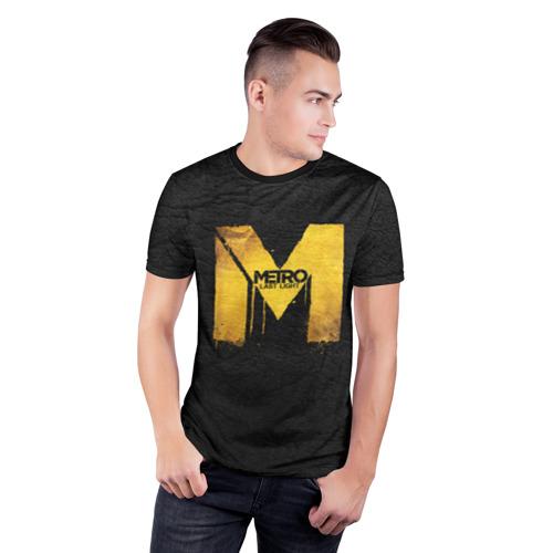 Мужская футболка 3D спортивная Metro: Last Light Фото 01