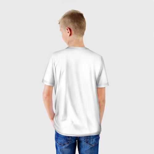 Детская футболка 3D  Фото 02, Татуировка волка