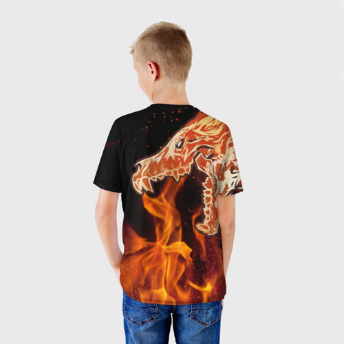 Детская футболка 3D 'Вой'