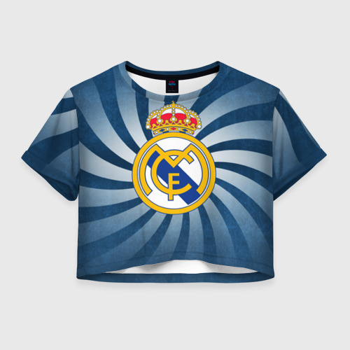 Женская футболка Cropp-top Реал Мадрид