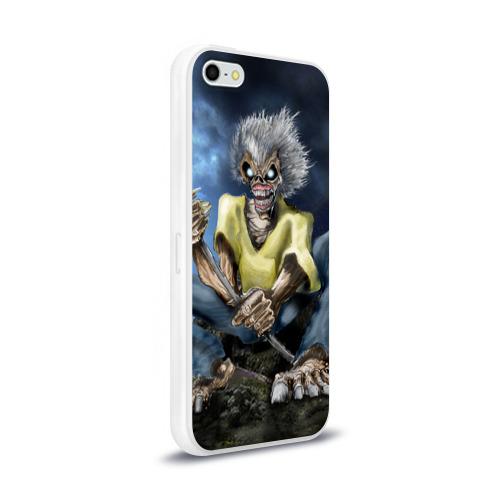 Чехол для Apple iPhone 5/5S силиконовый глянцевый  Фото 02, FISHING