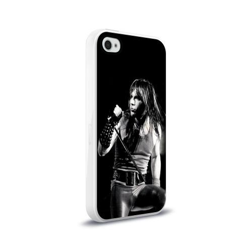 Чехол для Apple iPhone 4/4S силиконовый глянцевый  Фото 02, Sing