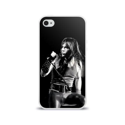 Чехол для Apple iPhone 4/4S силиконовый глянцевый  Фото 01, Sing