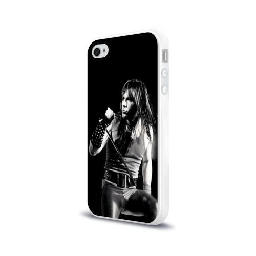 Чехол для Apple iPhone 4/4S силиконовый глянцевый  Фото 03, Sing