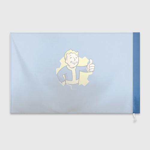 Флаг 3D Fallout Фото 01