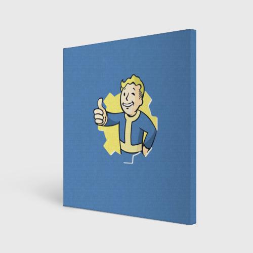 Холст квадратный Fallout Фото 01