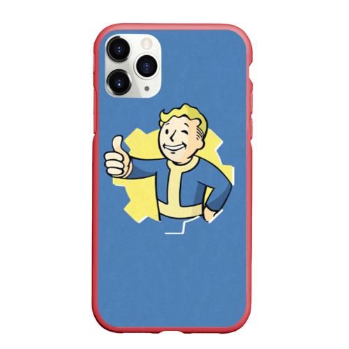 Чехол для iPhone 11 Pro Max матовый Fallout Фото 01