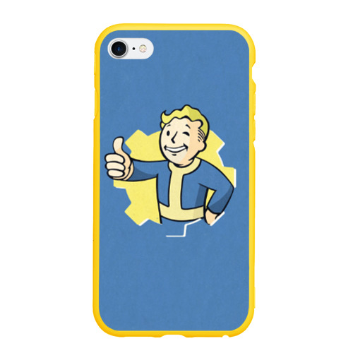 Чехол для iPhone 6/6S Plus матовый Fallout Фото 01