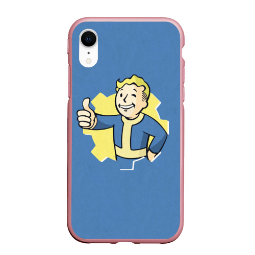 Чехол для iPhone XR матовый Fallout Фото 01