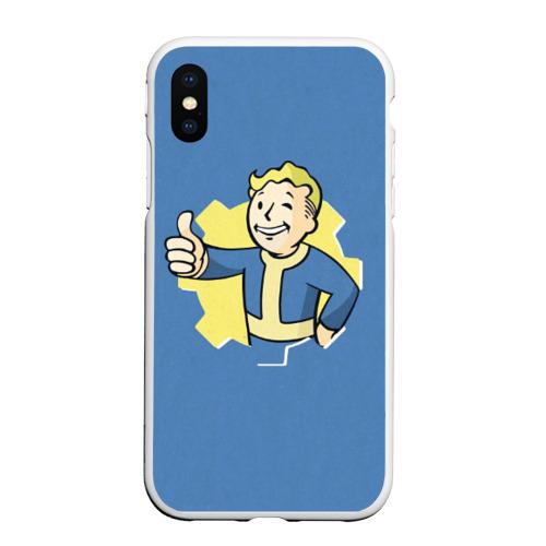 Чехол для iPhone XS Max матовый Fallout Фото 01