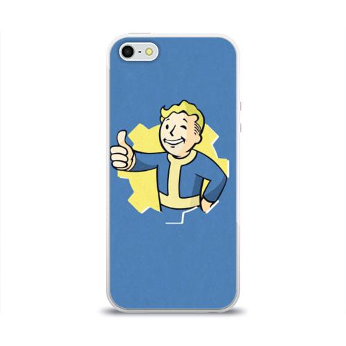 Чехол для iPhone 5/5S глянцевый Fallout Фото 01
