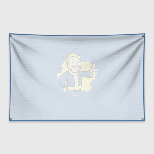 Флаг-баннер Fallout Фото 01