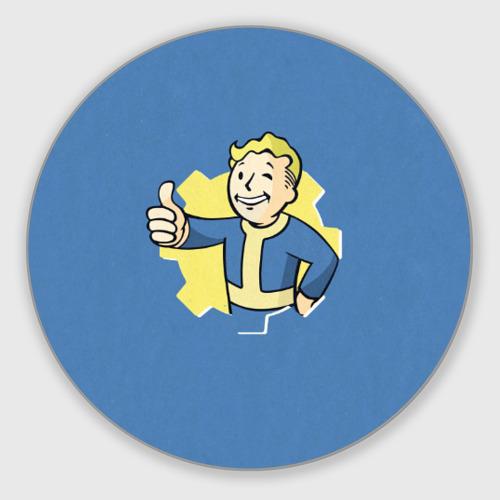 Коврик для мышки круглый Fallout Фото 01