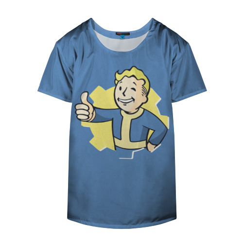 Накидка на куртку 3D Fallout Фото 01