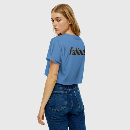 Женская футболка Crop-top 3D Fallout Фото 01