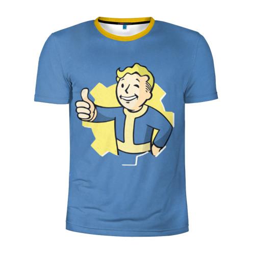 Мужская футболка 3D спортивная Fallout Фото 01