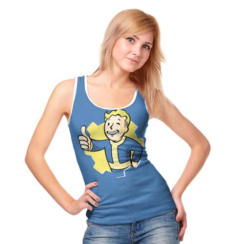 Женская майка 3D Fallout Фото 01