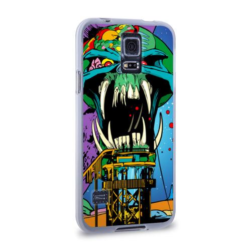 Чехол для Samsung Galaxy S5 силиконовый  Фото 02, Alien