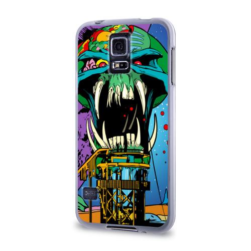 Чехол для Samsung Galaxy S5 силиконовый  Фото 03, Alien