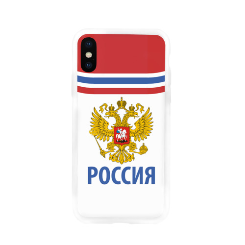 Чехол для Apple iPhone X силиконовый глянцевый  Фото 01, Путин