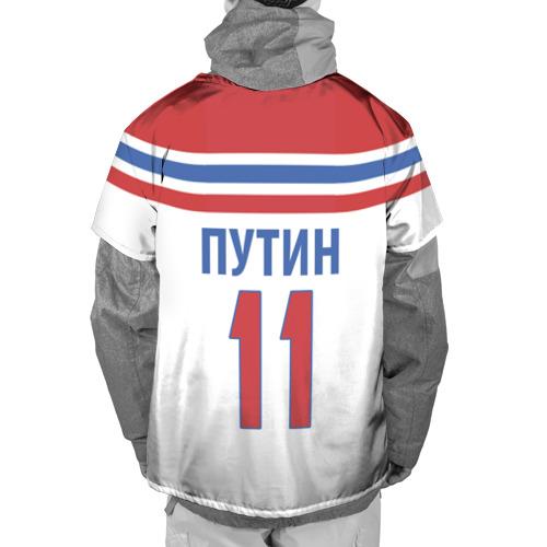 Накидка на куртку 3D  Фото 02, Путин