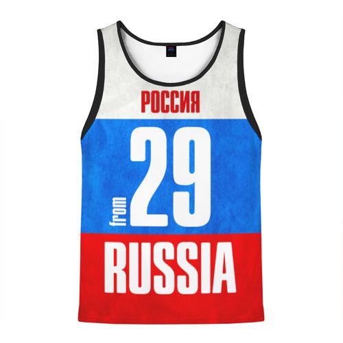 Мужская майка 3D Russia (from 29)