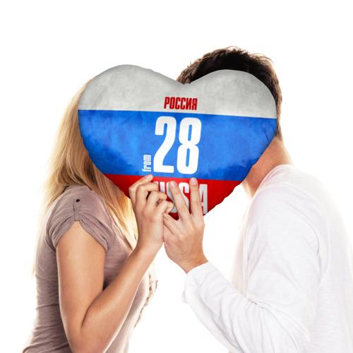 Подушка 3D сердце  Фото 03, Russia (from 28)