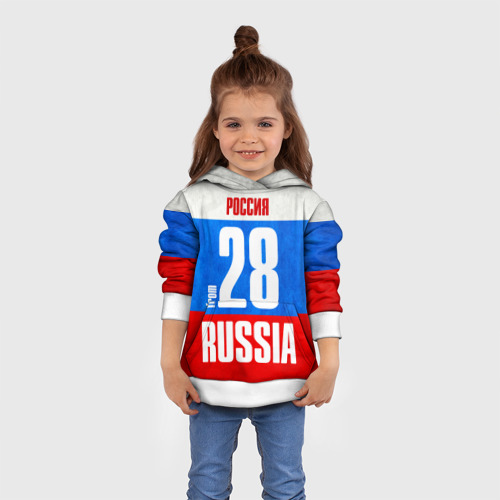 Детская толстовка 3D Russia (from 28)