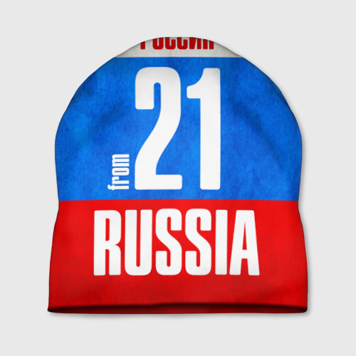 Шапка 3D Russia (from 21)