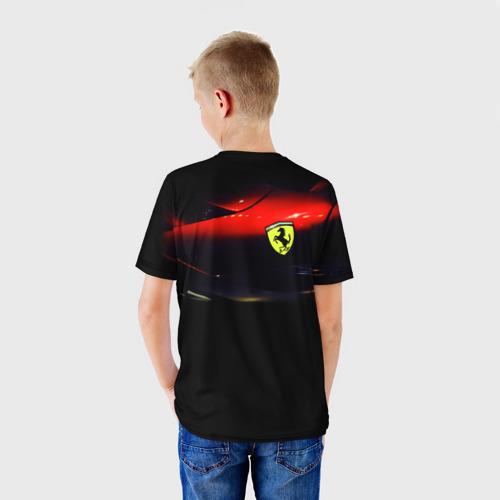 Детская футболка 3D  Фото 02, Феррари