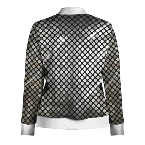 Женская олимпийка 3D  Фото 02, Silver style