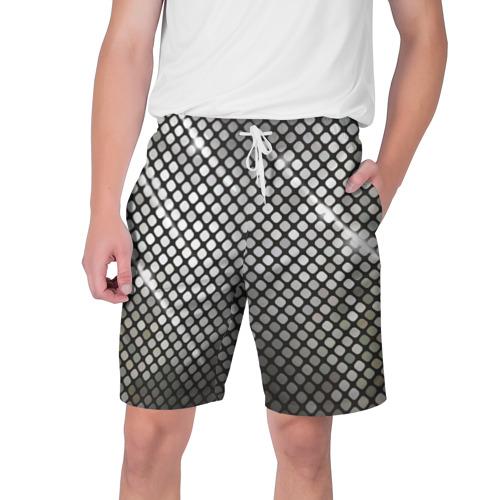 Мужские шорты 3D Silver style