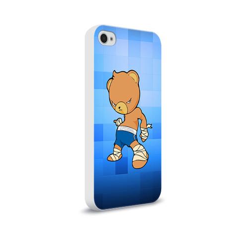 Чехол для Apple iPhone 4/4S soft-touch  Фото 02, Muay thai 2