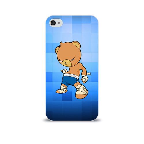 Чехол для Apple iPhone 4/4S soft-touch  Фото 01, Muay thai 2