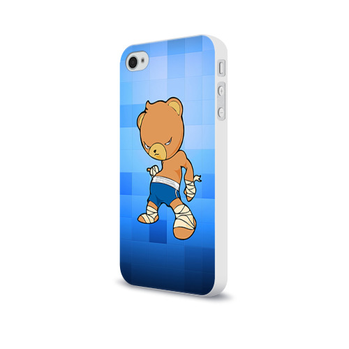 Чехол для Apple iPhone 4/4S soft-touch  Фото 03, Muay thai 2