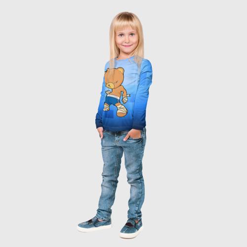 Детский лонгслив 3D  Фото 04, Muay thai 2