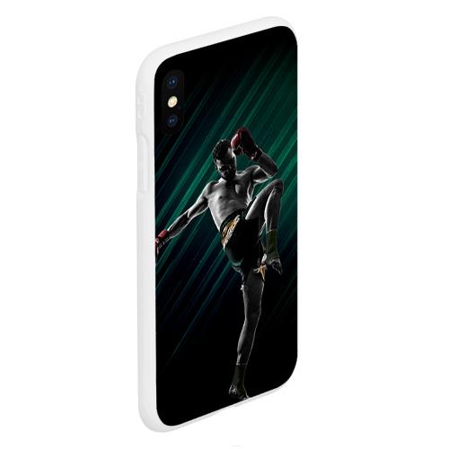 Чехол для iPhone XS Max матовый Muay thai 6 Фото 01