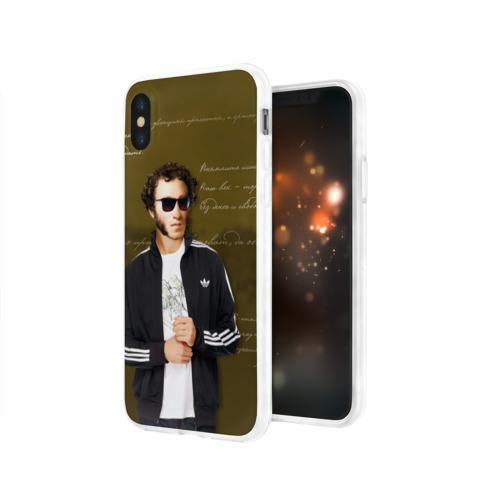 Чехол для Apple iPhone X силиконовый глянцевый  Фото 03, Пушкин