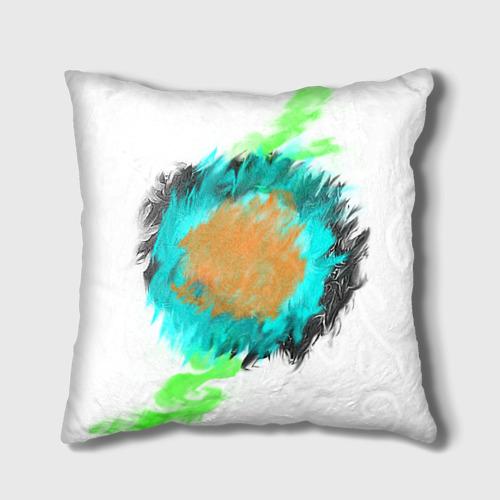 Подушка 3D  Фото 01, Цветная абстракция