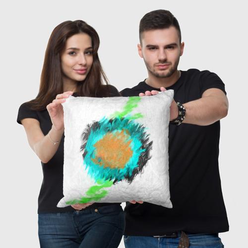 Подушка 3D  Фото 05, Цветная абстракция