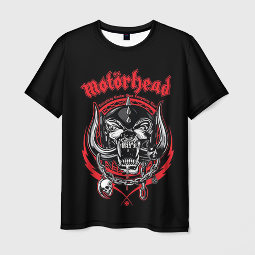 Мужская футболка 3D Motorhead