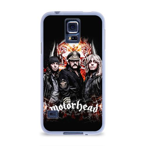 Чехол для Samsung Galaxy S5 силиконовый  Фото 01, Motorhead