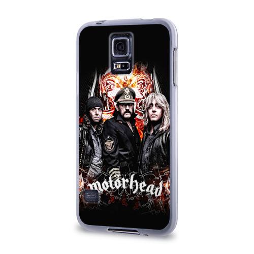 Чехол для Samsung Galaxy S5 силиконовый  Фото 03, Motorhead