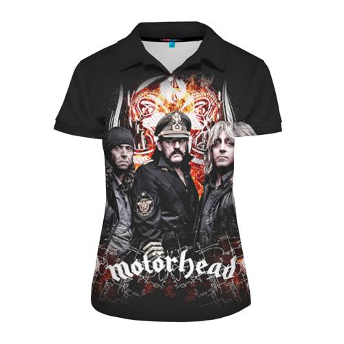 Женская рубашка поло 3D Motorhead