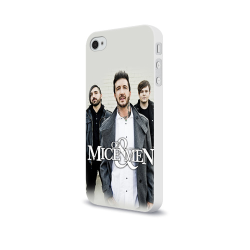 Чехол для Apple iPhone 4/4S soft-touch  Фото 03, Of Mice & Men