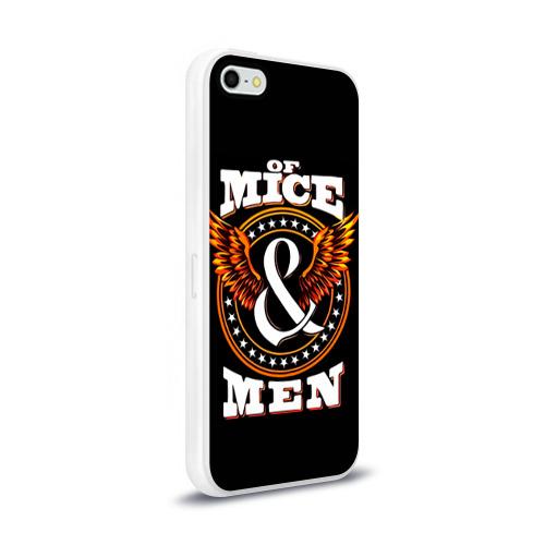 Чехол для Apple iPhone 5/5S силиконовый глянцевый  Фото 02, Of Mice & Men