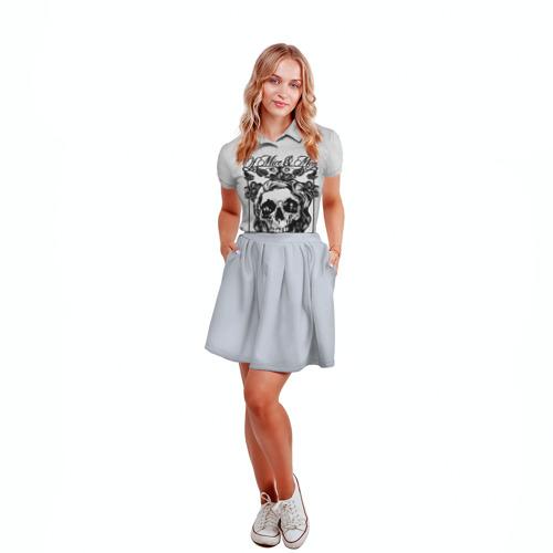 Женская рубашка поло 3D  Фото 04, Of Mice & Men